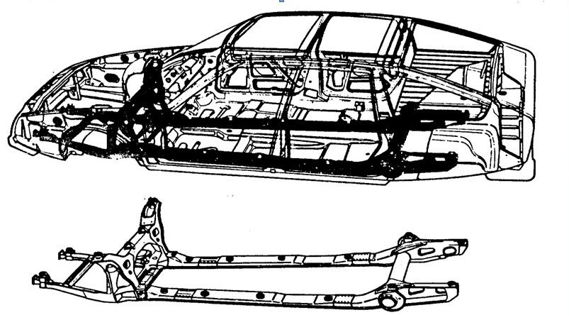 6100 Koleksi Gambar Rangka Mobil Sedan Terbaru